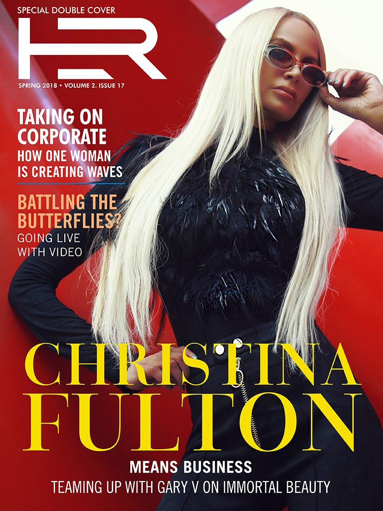 Christina Fulton double cover HER Magazine Nicholas Cage ex wife